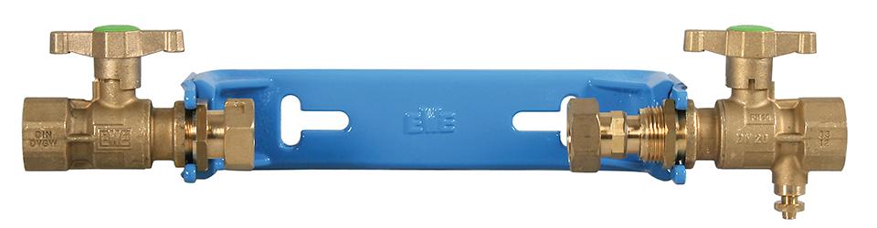 Watermeterbeugel EWE blauw