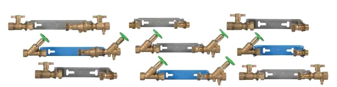 Watermeterbeugels assorti