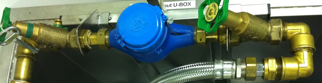 Watermeterbeugel UBox